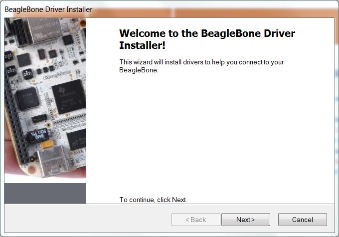 beaglebone driver installer